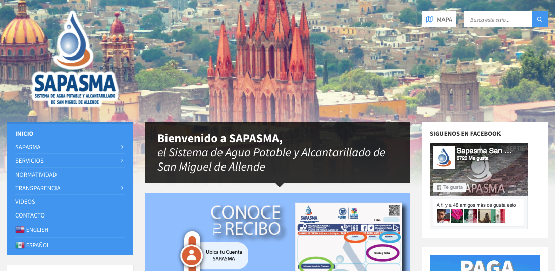 SAPASMA - San Miguel de Allende